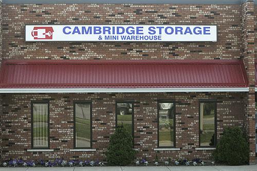 Cambridge Storage & Mini Warehouse Office